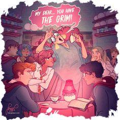 Professor Trelawney's class. By dangerjazz
