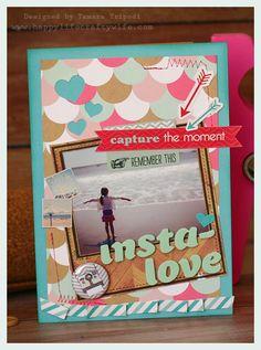 Insta-love card designed by Tamara Tripodi - www.happylifecraftywife.com