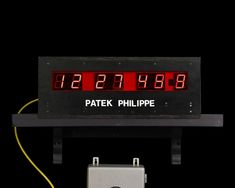 The master clock runs on a quartz crystal and is incredibly accurate Antique Clocks, Rare Antique, Clocks For Sale, Patek Philippe, Quality Time, Digital Alarm Clock, Quartz Crystal, Display, Electronics