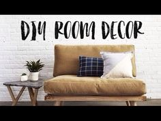D.I.Y  ROOM DECOR // Tumblr Inspired