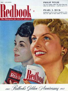 May 1953 REDBOOK Cover.