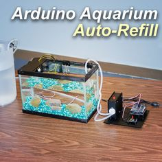 Aquarium Auto Refill With Arduino: 5 Steps (with Pictures) Aquaponics Diy, Aquaponics System, Diy Electronics, Electronics Projects, Aquarium Pump, Diy Aquarium, Aquarium Design, Saltwater Aquarium, Simple Arduino Projects