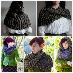 """knithitsthefan: """" truebluemeandyou: """" DIY Knit Outlander Inspired Cowl Free pattern by Kalurah on Ravelry. I have seen a pay pattern on Etsy almost identical to this one, except I like this one..."""