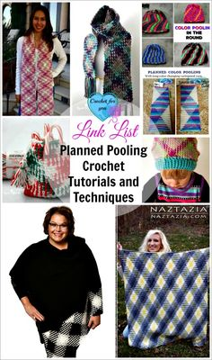 Planned Pooling Crochet Tutorials and Techniques. I will update this link list in the future with new resources about planned pooling crochet.