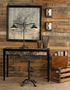 Wooden Pallet Furniture Creative Furniture Projects You Should Try For Your Home DIY Pallet Furniture Design No. Pallet Furniture Designs, Pallet Patio Furniture, Pallet Walls, Furniture Projects, Diy Furniture, Bedroom Furniture, Wood Walls, Pallet Projects, Pallet Ideas