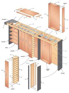 Garage Storage: Space-Saving Sliding Shelves - Step by Step | The Family Handyman