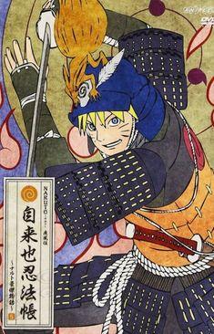 Can I get enough ukiyo-e style Naruto art? Naruto Sharingan, Naruto Vs Sasuke, Sarada Uchiha, Naruto Shippuden Anime, Boruto, Naruhina, Manga Art, Manga Anime, Kabuto Samurai