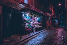 """Elsa Bleda's """"Istanbul, At Night"""" Photo Project is a Neon-Lit Tribute to the Ancient Eurasian City Neon Aesthetic, Night Aesthetic, Aesthetic Photo, Aesthetic Anime, Nocturne, Elsa, Neon Nights, Colossal Art, City Scene"""
