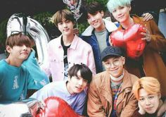 Namjoon the grandpa and his grandsons