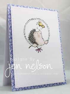 Cute Penny Black card!