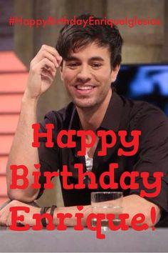 Happy 39th Birthday Enrique Iglesias! (May 8th) #HappyBirthdayEnriqueIglesias