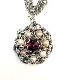 Resultado de imagen para chainmaille statement necklace
