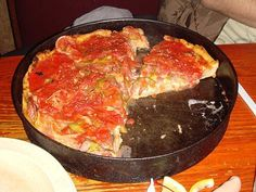 Deep Dish Pizza is listed (or ranked) 2 on the list Uno Chicago Grill Recipes