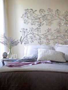 Le zèle du papillon: Têtes de lit originales.