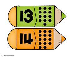 Numbers Preschool, Preschool Worksheets, Pre School, Middle School, Number Activities, Learning Time, Number Sense, Busy Book, Homeschool