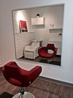 Studio 102, Salon Village San Francisco, CA- I like the idea of the wash station behind the chair