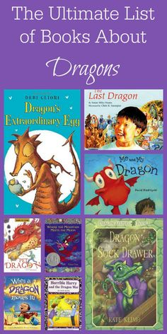 This is the best list of books about dragons for young children I've ever seen! www.spoilmyfamily.com