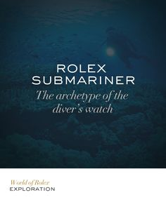 The deep remained beyond reach until the irrepressible desire for exploration, coupled with boundless human ingenuity, gave rise to the technology that would enable men to catch a glimpse of the underwater world. The Submariner was first created in the pioneering era of scuba diving. #Submariner #Exploration #RolexOfficial