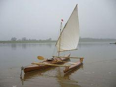 Sail Kayaking.