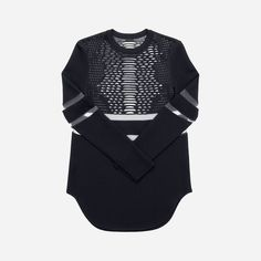 TOP WITH PERFORATED PATTERN ALEXANDER WANG x H&M US