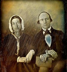 Almost Wiped Away, Binsse 1/6th-Plate Daguerreotype, Circa 1844