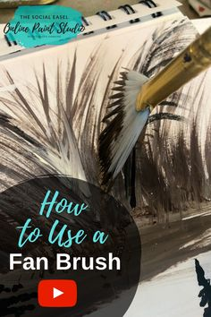 Lets talk about Fan Acrylic Paint Brushes! Want to learn how to paint trees and grass and more!? I'm going to show you how to paint with a Fan brush!! #acrylicpaintbrushes #learnhowtopaint #thesocialeaselonlinepaintstudio Step-by-step Painting Tutorials Online Painting Videos Learn to Paint How to Paint DIY Painting Party Art Instructions Painting for Beginners How to use a Fan Paint Brush Flat Paint Brush How to Paint Trees Acrylic Painting Grass Video Art Lessons for Beginners Acrylic…