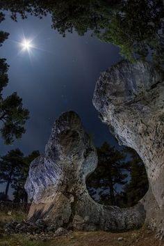 Rock formations, Bosque Encantado, Cuenca, España #spain