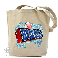 3D Baseball Type Tote Bag