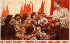 communist propaganda posters   Stalin-era propaganda poster - Soviet crimes are still taboo in some ...