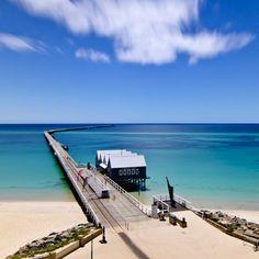 この絶景海に吸い込まれそう! バッセルトン桟橋/オーストラリア