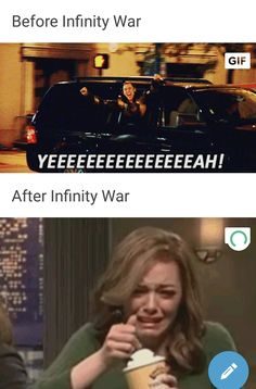 Literally though... i will never be the same again... #infinity war