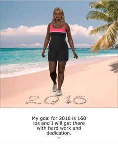 Mighty Gal plans to reach 160 lbs in 2016.