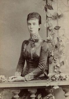 Princess Thyra, Duchess of Cumberland, neé Princess of Denmark. 1880s