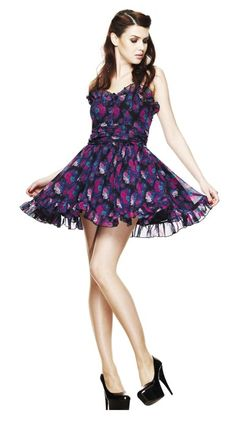 Hell Bunny // Hell Bunny Floral Margot Mini Dress