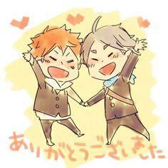 I don't ship Sugahina but this is adorable! I feel like Sugawara is more like the mom.