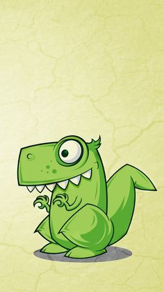 Dino - iPhone wallpapers @mobile9 | #cartoon #cute