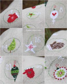 Christmas cross stitch http://www.sallyeidson.willowhouse.com