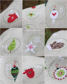 Christmas cross stitch http://www.sallyeidson.willowhouse.com