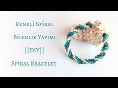 Renkli Spiral Bileklik Yapımı || #DIY || Spiral Bracelet || - YouTube Spirals, Beadwork, Wave, Beaded Bracelets, Beads, Jewelry, Arm Candies, Necklaces, Bangle Bracelets