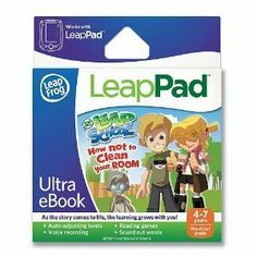 LeapFrog LeapPad Ultra eBook: LeapSchool How Not to Clean Your Room --- http://www.amazon.com/LeapFrog-LeapPad-Ultra-eBook-LeapSchool/dp/B007CS1Z2K/?tag=757stuff00-20