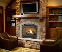 How To & Repair : Direct Vent Fireplace Installation Direct Vent Gas Fireplaces' Direct Vent Gas Fireplace Insert' Fireplace Direct plus How To & Repairs Fireplace Stores, Home Fireplace, Fireplace Design, Fireplace Ideas, Basement Fireplace, Country Fireplace, Fireplace Surrounds, Direct Vent Gas Fireplace, Vented Gas Fireplace