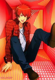 Ittoki Otoya - uta no prince sama Don't know what that is but I love the style of this pic!