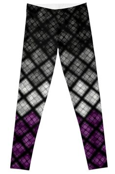 Asexual Diamond Scales Pattern by LiveLoudGraphic