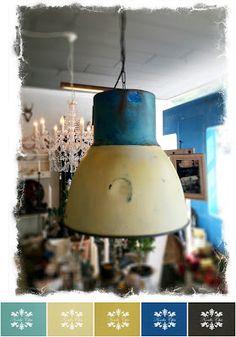 ZibenZak: Ny lampe bliver til gammel industri lampe
