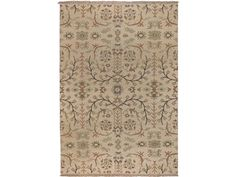 Shop for Thomasville Melita - Cream/Multi Hand-Knotted Rug - 6'x9', 61110-1127, and other Floor Coverings Rugs at Georgia Furniture in Savannah, GA. 100% New Zealand Wool.