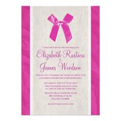 Discount DealsFuchsia Vintage Bow & Linen Wedding Invitations Custom InvitesWe have the best promotion for you and if you are interested in the related item or need more information reviews from the x customer who are own of them before please follow the link to see fully reviews
