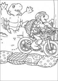 franklin the turtle coloring pages - photo#24