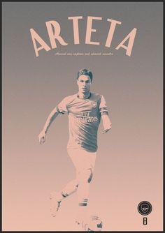 Football Poster designs by Joe Bargus, via Behance Arsenal Football, Arsenal Fc, Arsenal Wallpapers, Mikel Arteta, Soccer Poster, Retro Football, Poster Designs, Illustrations Posters, Soccer Stuff