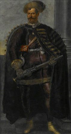 Portrait of an Unidentified Soldier (probably a Polish Mercenary Leader), unknown artist. When The Bough Breaks, Modern Warfare, Napoleon, Artist, Painting, Poland, Masters, Warriors, Russia