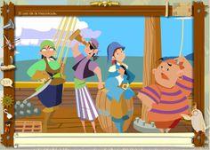 Los piratas de la Ortografía: Mayúsculas y minúsculas. Apropiado para 2º, 3º y 4º Niveles de Educación Primaria.